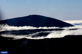 La brume sur les montagnes